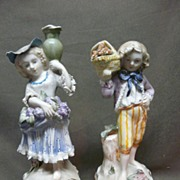 SALE Charming Pair Cordey Figurines