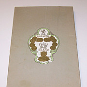 Liddell Damask Linen Tablecloth and Napkins, c.1920