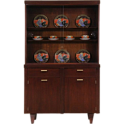Midcentury Modern 1960 Vintage China or Display Cabinet