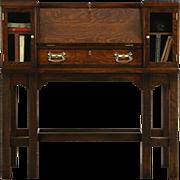 Arts & Crafts Mission Oak 1905 Antique Secretary Desk