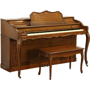 Baldwin Signed Acrosonic Cherry 1959 Vintage Console Piano & Bench