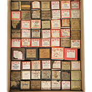 Player Piano Rolls, Box of 61 Assorted