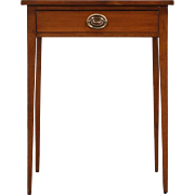 Hepplewhite or Federal 1790's Antique Cherry End Table or Nightstand