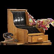 Champion Register Cleveland Oak File System, Collector Cabinet, 1909