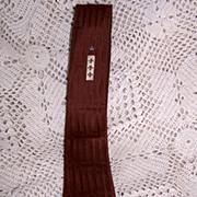 Vintage Silk Skinny Necktie from Hotel Statler New York