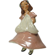 Grimes California Pottery Young Lady Planter
