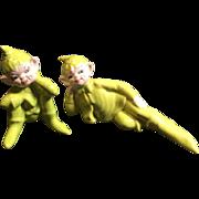 Gilner California Ceramic Elves Pixies