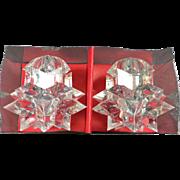 SALE Astro Lucite Salt & Pepper Shakers w Original Box