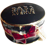 Estee Lauder Saks Fifth Avenue High Style Hat Box Solid Perfume Compact ~ Very Limited ...