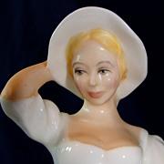"SALE Beautiful Royal Doulton porcelain figurine ""Samantha"" HN 2954"