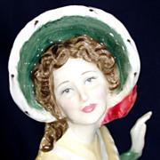 "SALE Royal Doulton bone china (porcelain) figurine ""Christmas Day 2002"" HN 4422"