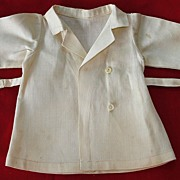 SALE Original vintage Effanbee composition doll  jacket with matching hat