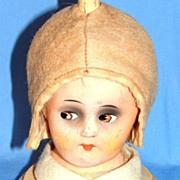 SALE 1920's - 1930's Era Figural Composition Art Deco Doll Hat Stand