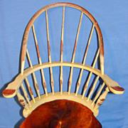 SALE Vintage Windsor Comb Back Doll Chair