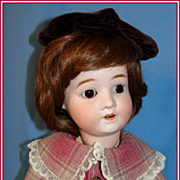 "SALE Sweet 22"" Schoenau Hoffmeister Bisque Child  Doll"