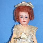 "SALE Antique Cabinet SIze 8"" Armand Marseille flapper type Bisque Doll"