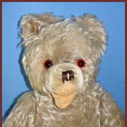 SALE Old German Mohair Teddy Bear - Hermann Zotty, w/ Open Mouth