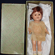 SALE Rare 1935 Madame Alexander Composition Baby Jane Celebrity Doll - Original Tagged Dress .