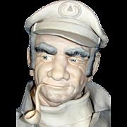 "SALE Impressive Edward J. Rohn Porcelain Sculpture Entitled ""Captain""."