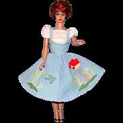 SALE 1960's Titian #1 Bubble Cut Barbie w / Wardrobe and Extras