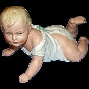 Antique Heubach Piano Baby