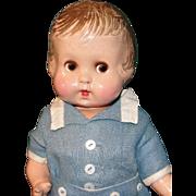 Rare and ADORABLE JIMMIE ca 1929 All Original Averill / Madame Hendren Body Twist Doll