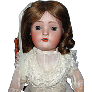 SALE Pretty Antique German Bisque Character Doll - Revalo or Hertel & Schwab