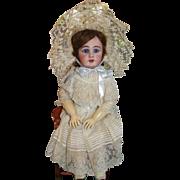 SALE Amazing Simon & Halbig 939 Antique Bisque Doll in Fabulous Factory Original Costume