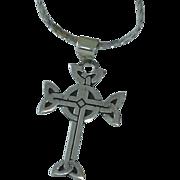 Sterling Celtic Cross