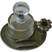 Vintage French Inkwell