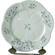 Shelley Blue Rock Dainty Shape Small Plate