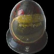 Mauchline Ware Tartan Ware Egg Thread Holder