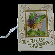 Art Nouveau Little Book Booklet