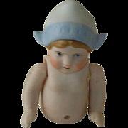 SOLD German Estate Bisque Dutch Doll