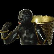 Antique Blackamoor Cast Figurine