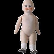 SALE Antique German Bisque Doll Pink Tint