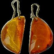 Baltic Amber Earrings Estate