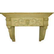 French Architectural Shelf 19th Century Carved
