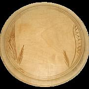 Carved English Breadboard 19th Century
