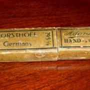 SOLD Giesen &  Forsthoff Straight Razor Box, Solingen, Germany