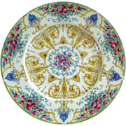 "Beautiful Set of 8 Royal Worcester 10 3/8"" Cabinet Plates"