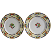 Myott/Staffordshire Crown Ivory Dinner Plates 2202