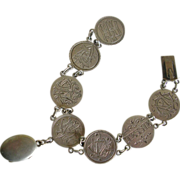 Exquisite Victorian Love Token Bracelet with Locket