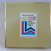 SOLD Olympic Winter Games 1980-Lake Placid Double Deck Playing Cards