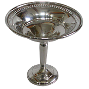 Vintage Hamilton Silver Sterling Compote