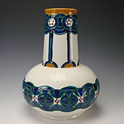 Antique Jugendstil Rorstrand Pottery Vase Dessin Alf Wallander