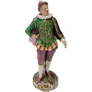 Antique Royal Vienna Austrian Commedia Dell Arte Figurine Figure