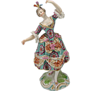 Antique French Samson Porcelain China Hand Painted Figurine