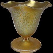 SALE Art Nouveau Iridescent Loetz Papillon Art Glass Vase c1900 Antique