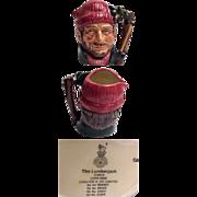 Royal Doulton Character Jug The Lumberjack Small Size
